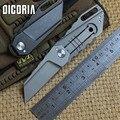 DICORIA Yoda шариковый подшипник M390 складной нож с титановой ручкой  тактические походные охотничьи уличные карманные ножи  инструменты для повс...