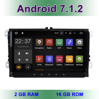 9 Android 7 1 2 Car DVD Radio Stereo GPS For VW Passat CC Golf 5