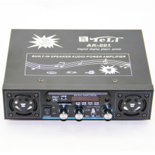 USB SD FM  Digital Audio Power Amplifier Built-in Dual Speakers With Remote Control 50W+50W