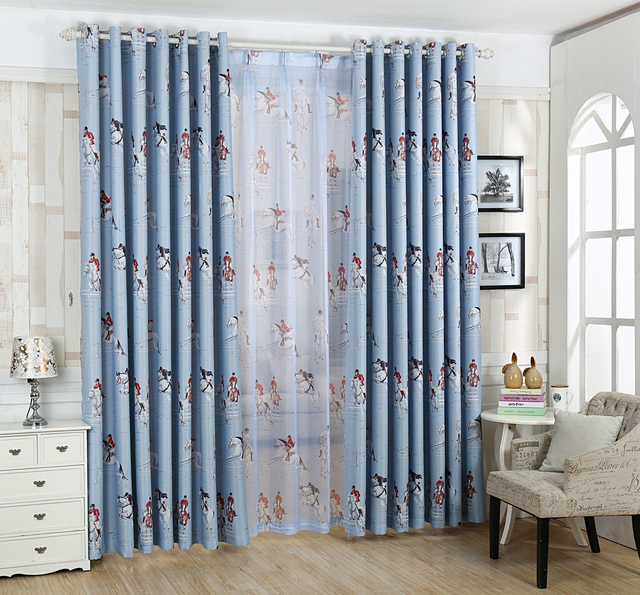 Curtains For Living Room Romantic Shade Blackout Curtain With Matched Sheer Size 326m