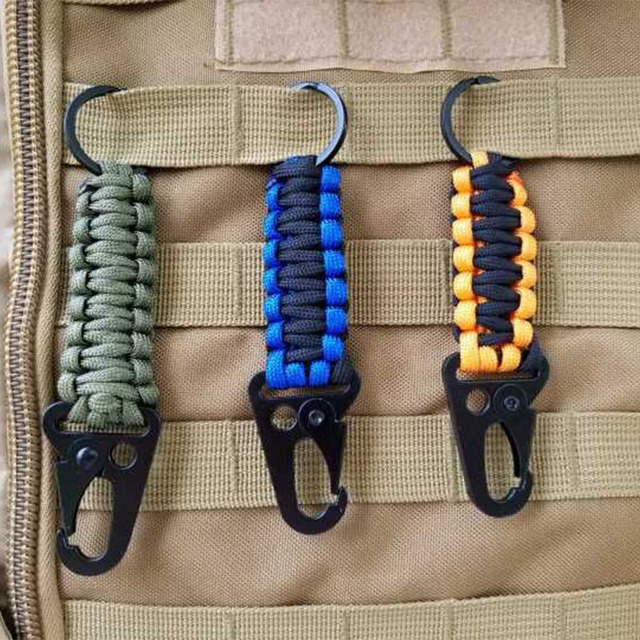 Paracord Rope Keychain