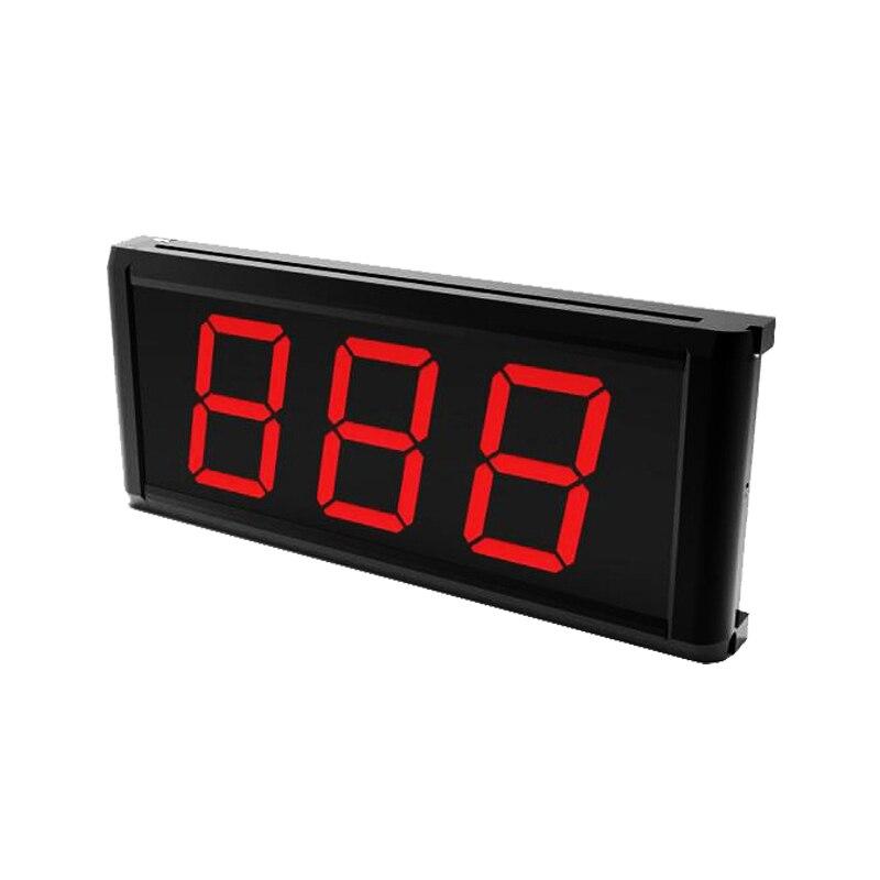 433,92 MHZ 3 Ziffern Monitor 999 Kanal Wireless Service Aufruf System Anzahl Display für Restaurant Hotel Kaffee Haus K-403
