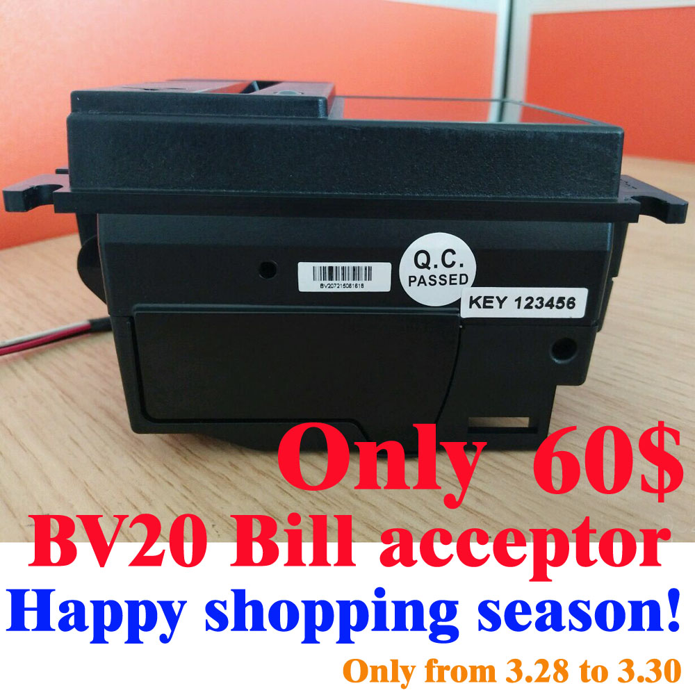 Only for 3.28 Happy BV20 bill acceptor Technical data / BV20 Bill Acceptor Bill validator education bill