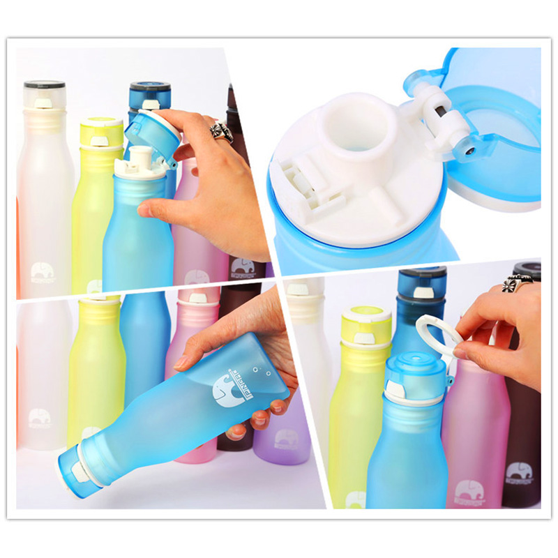 400ml Lovely elepent Cup Bottle Drinkware Cup Hot Water Mug Bottle for Travel Camping
