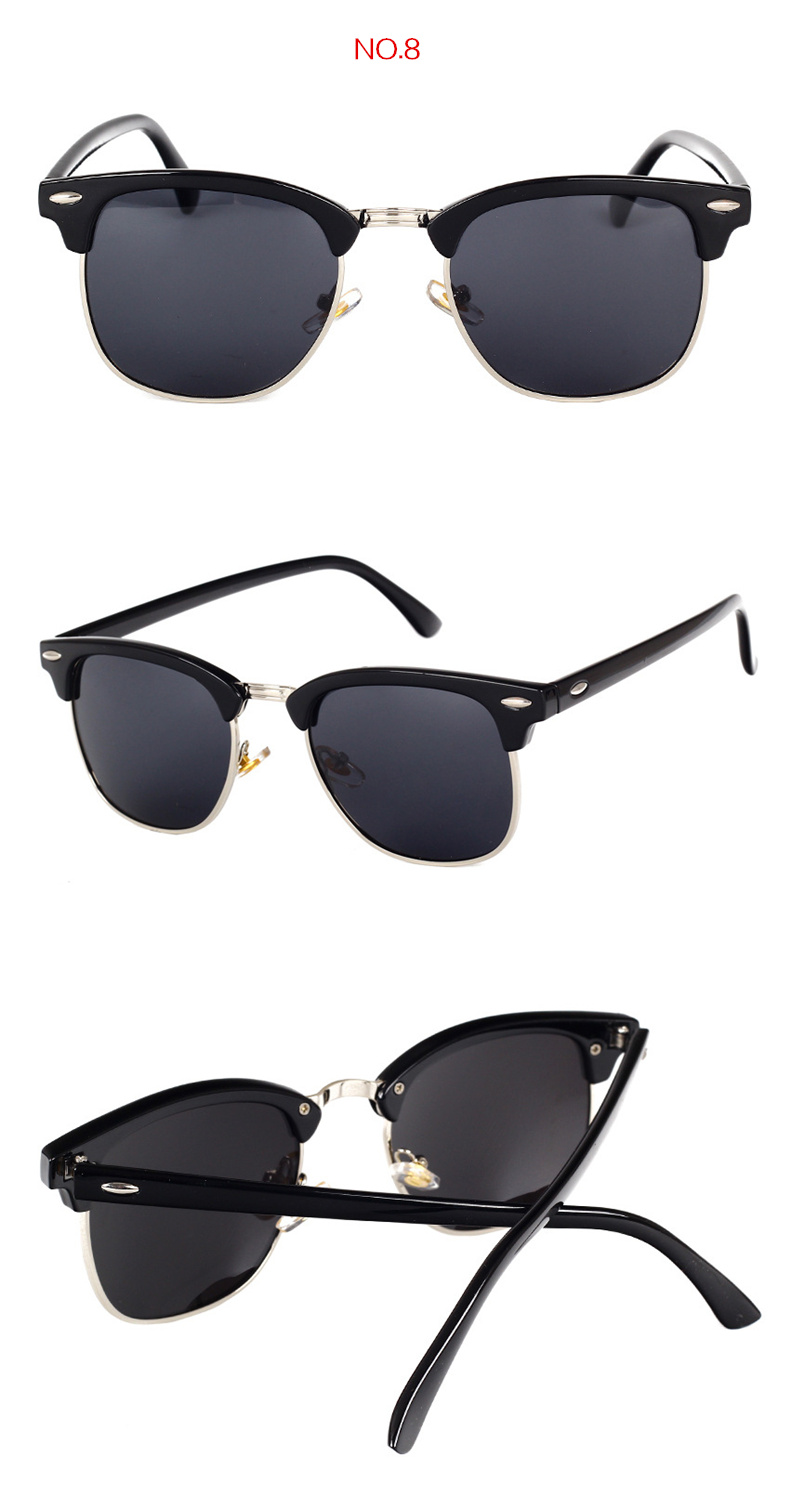 HTB18LLnaBDH8KJjSspnq6zNAVXa9 - YOOSKE Classic Polarized Sunglasses Men Women Retro Brand Designer High Quality Sun Glasses Female Male Fashion Mirror Sunglass