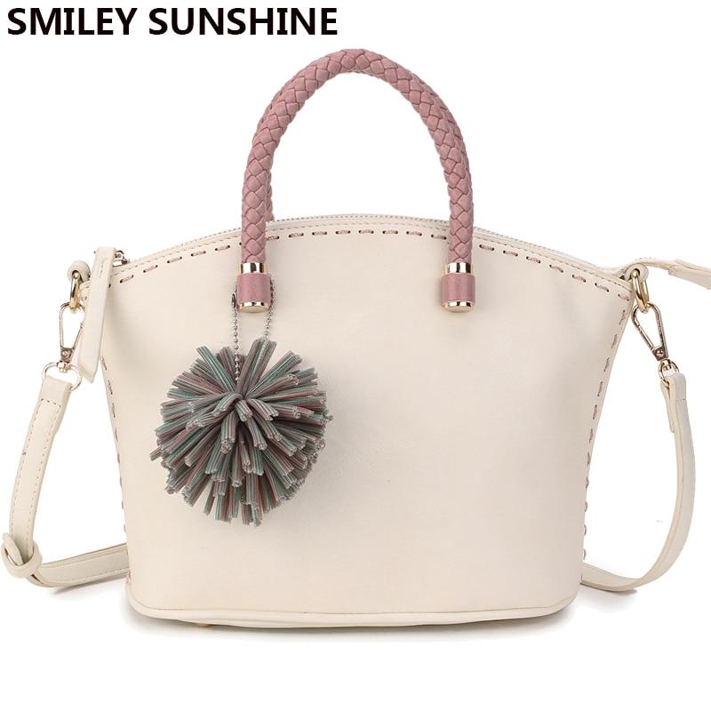 SMILEY SUNSHINE marke neue blume candy farbe frauen handtaschen - Handtaschen