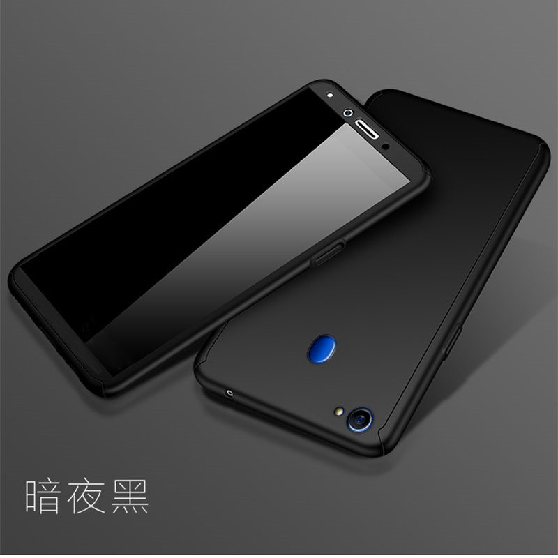360 Full Protection PC Hard Cases For OPPO A57 A53 A71 A83 Cover For OPPO A77 A59 A79 A37 A33 Matte Back Coque With Glass Film