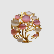 trendy circle plant Brooches