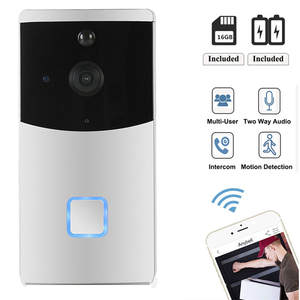 Doorbell Camera Smart Wifi Audio Alarm Video-Intercom Two-Way Motion-Detection Night-Vision