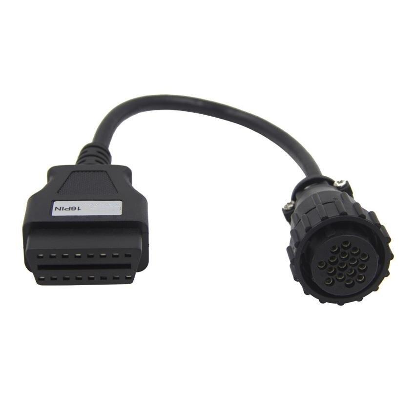 Werkzeuge Obd Obd2 Diagnose Adapter Kabel Für Mercedes Benz 38 Pin Rundstecker Anschluss Auto Motorrad Teile Artequalswork Com