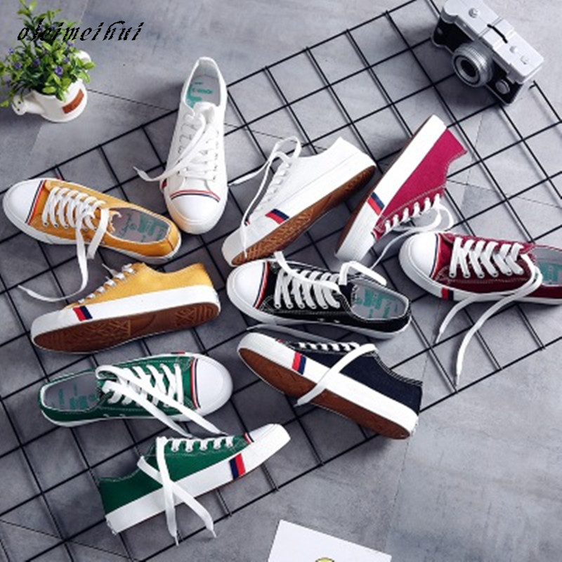 summer fashion women casual shoes lace up comfortable flat casual shoes slipony woman footwear leisure women canvas shoes Summer Fashion Women Casual Shoes Lace-Up Comfortable Flat Casual Shoes slipony Woman Footwear Leisure Women Canvas Shoes