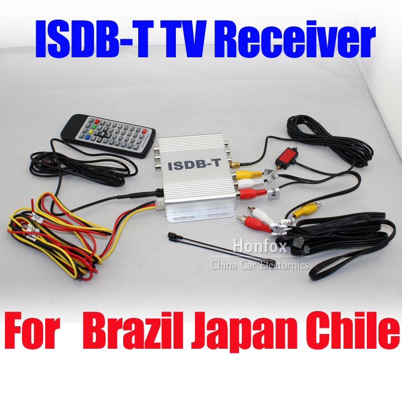 ФОТО Car ISDB-T Digital TV Receiver Box MPEG-4 Tuner for Japan Brazil South America