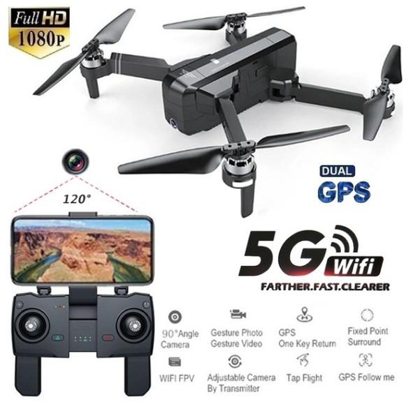SJRC F11 GPS 5G Wifi FPV With 1080P Camera 25mins Flight Time Brushless Selfie RC Drone Quadcopter(China)