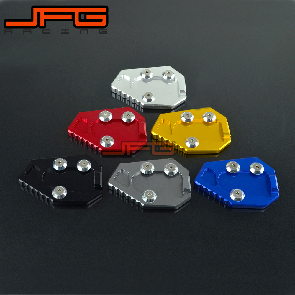 Side Kickstand Stand Extension Plate Pad For HONDA CB1000R CBR 1000 2008-2016 08 09 10 11 12 13 14 15 16 Motorcycle