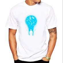 d55ef0561 Men clothing Tops fashion summer short t shirt men brand clothing cotton  comfortable male t-shirt light bulb print tshirt men