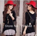 FYX1523 the latest beautiful lady fashion knitting casual dress big size dress XL-3XL