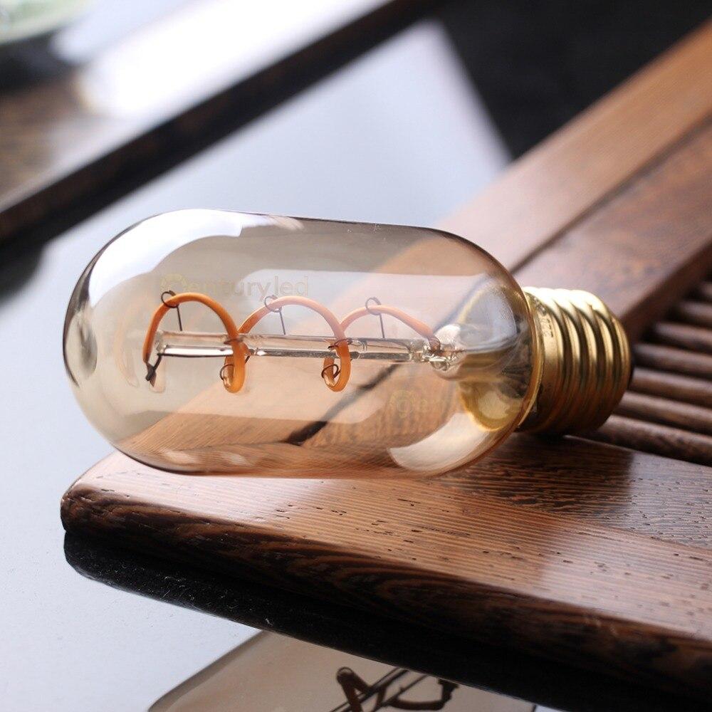 Grensk Led フィラメント電球 T45 Led 2200 18K 調光対応柔軟な EdisonLight 電球 E27 220 v Lamparas Bombillas Led テーブルランプ家庭用  グループ上の ライト & 照明 からの LED バルブ & チューブ の中 3