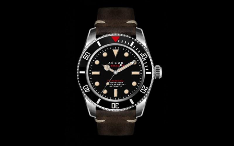 Top grade Authentic ANCON SEA SHADOW II 41.5mm SEA203