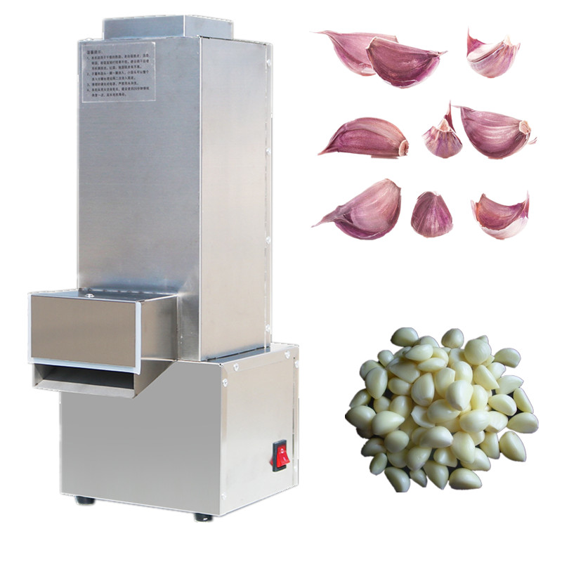 Hot sale stainless steel garlic peeling machine electric garlic peeler garlic skin peeling machine green walnut peeling machine fresh walnut peeler green walnut peeler machine