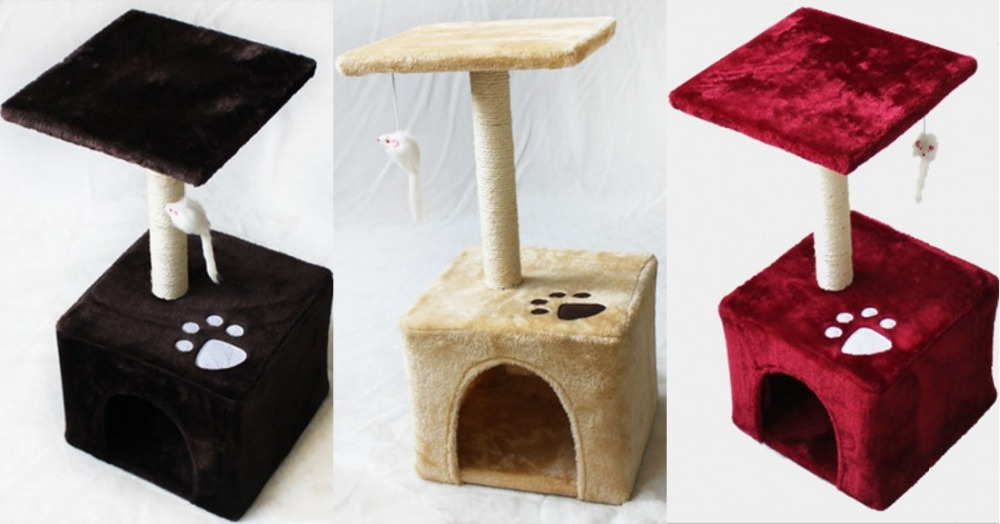 Small Cat Kitten Furniture Tree Soft Scratching Nap Toy Condo Tower Kitten House In Furniture Scratchers From Home Garden On Aliexpress Com Alibaba