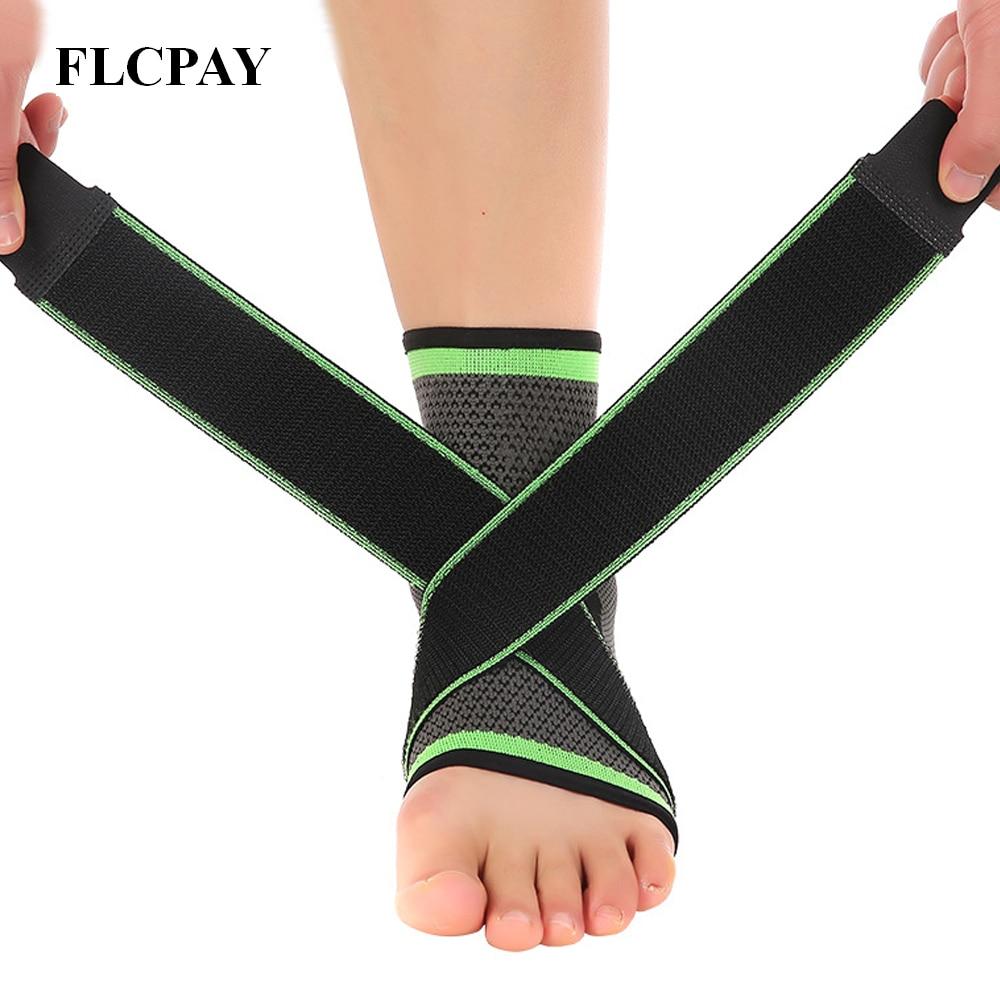 Vendaje protección de tobillo pie tobillo Wrap para la fractura ejercicio  esguince tobillo pie varo tobillo b793a99473b2f