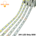 DC24V LED Strip 5050 Flexible LED Light RGB LED Strip 60LEDs/m 5m/lot.