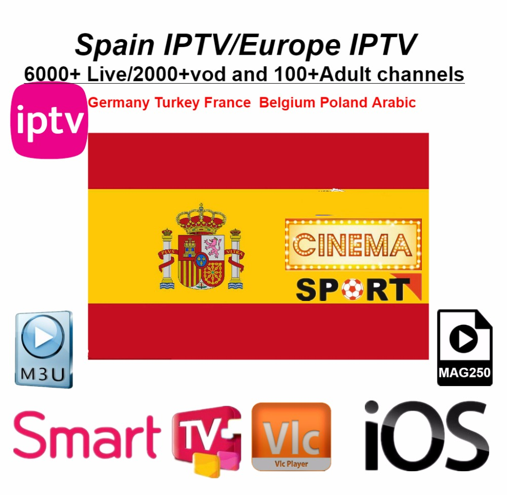 Exclusive Spain Iptv Portugal Latino Italy France Subscription Netherlands 4K Iptv M3u Vod For Android Phone Tv box Smart TvExclusive Spain Iptv Portugal Latino Italy France Subscription Netherlands 4K Iptv M3u Vod For Android Phone Tv box Smart Tv