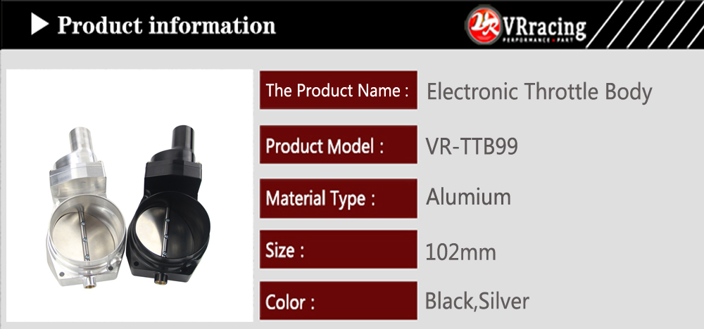 US $238 7 5% OFF|VR Billet 102mm Electronic Throttle Body For Chevrolet LS1  LS2 LS3 LS7 LSX LSXR Intake Manifold LS Engine VR TTB99-in Throttle Body