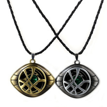 Marvel Superhero Figure Doctor Strange Eye of Agomotto Keychain Toy Avengers Union  Glasses Pendant Car Bag Necklace Gift