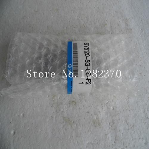 [SA] New Japan genuine original SMC solenoid valve SY5120-5G-C8-F2 spot --2PCS/LOT [sa] new japan genuine original smc solenoid valve vcl41 5dl 10 06 spot