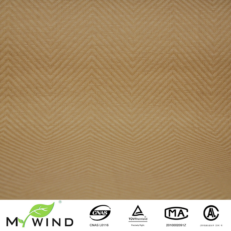 Light Yellow Texture Paper Weave Wallpaper Classic Living Room Walls Design Popular Interior Wall Decoration Material In Wallpapers From Home Improvement On