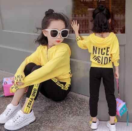 dc9a32eedf96 ... 4 6 8 для детей 12 лет Одежда для маленьких девочек комплекты Весенняя  одежда для детей ...