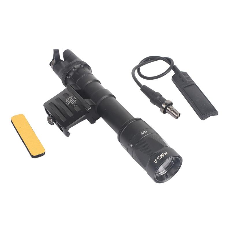 Airsof tático lanterna m612v scout luz wds07