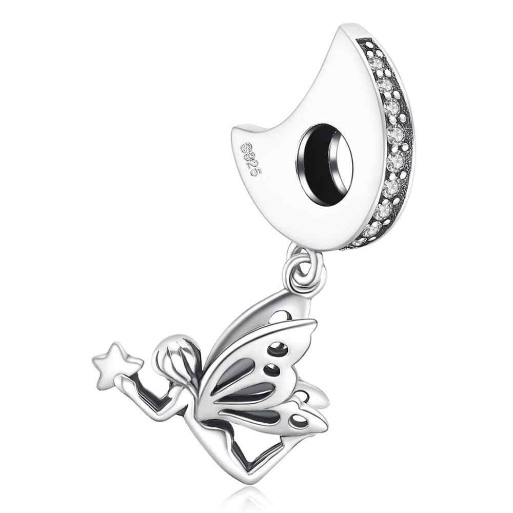 JewelryPalace Fee Winkel 925 Sterling Silber Perlen Charms Silber 925 Original Für Armband Silber 925 original Schmuck Machen