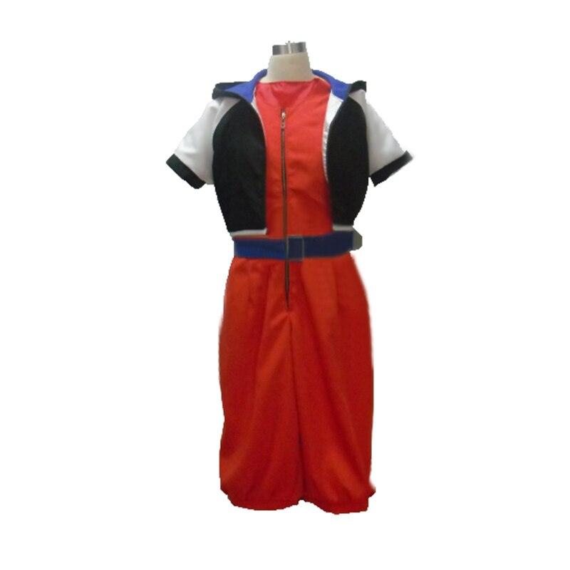 Anime Kingdom Hearts Sora cosplay costume