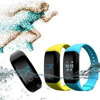 X11 IP68หัวใจข้อมือRate Monitorสายรัดข้อมือกีฬาออกกำลังกายวิ่งบันทึกสร้อยข้อมือสมาร์ทกันน้ำสำหรับiOS A ...