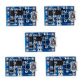 5 Шт./лот 5 В 1A 2 В 1 Зарядки Модуль TP4056 Зарядки Micro USB для 18650 Литиевые Батареи Интерфейс Питания питания