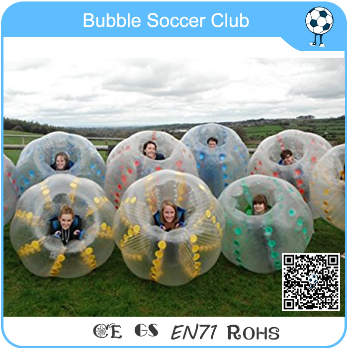 Colourful inflatable bubble football sports ball,human bubble suit for sale cheapest crazy best material tpu inflatable body bumper ball bubble soccer ball bubble ball for football