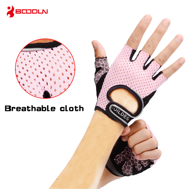 Boodun Weight Lifting Gym Gloves Training Fitness Gloves Men Sports Exercise Slip-Resistant Breathable Gloves Women Yoga Gloves