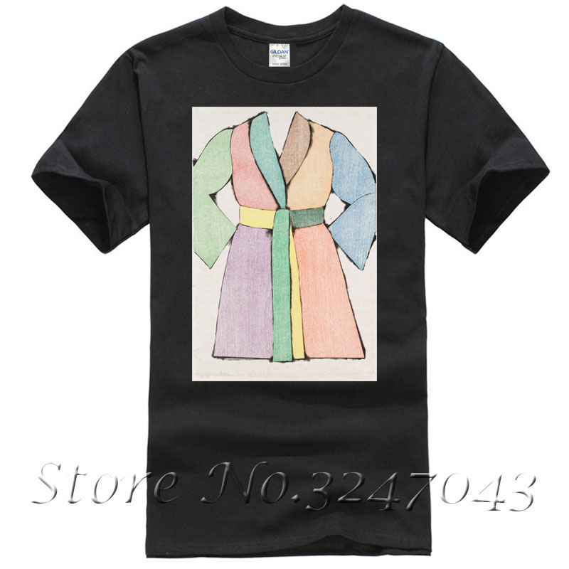 The woodcut bathrobe T Shirt by Jim Dine Mens T-shirt ...