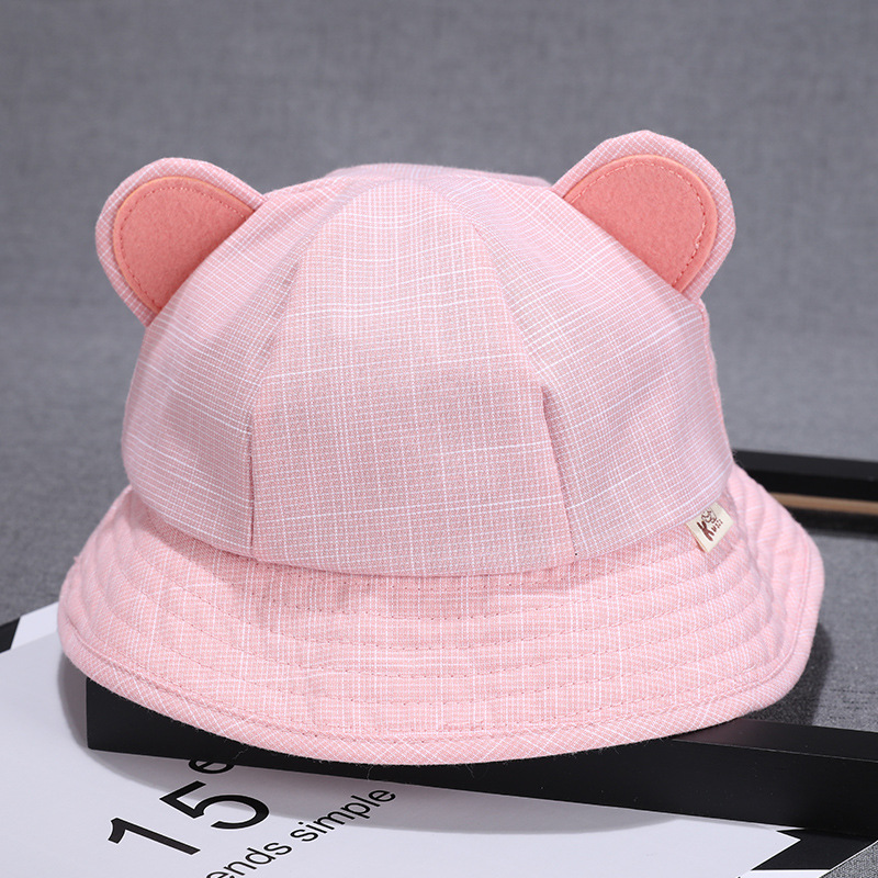 Yooap New soft cotton summer baby sun hat baby autumn fisherman hat newborn photography props in Hats Caps from Mother Kids