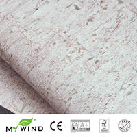 2019 MY WIND Mint Green Wallpapers Luxury 100% Natural Material Safety Innocuity 3D Wallpaper In Roll Decor European aristocracy