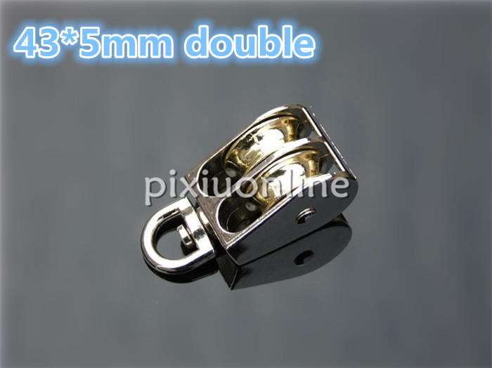 High Quantity Small Zinc Alloy Fixed Pulley for DIY Model Making