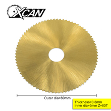 80 мм TI-coated Мини HSS Циркулярный пильный диск роторный резак для металла ручной инструмент набор