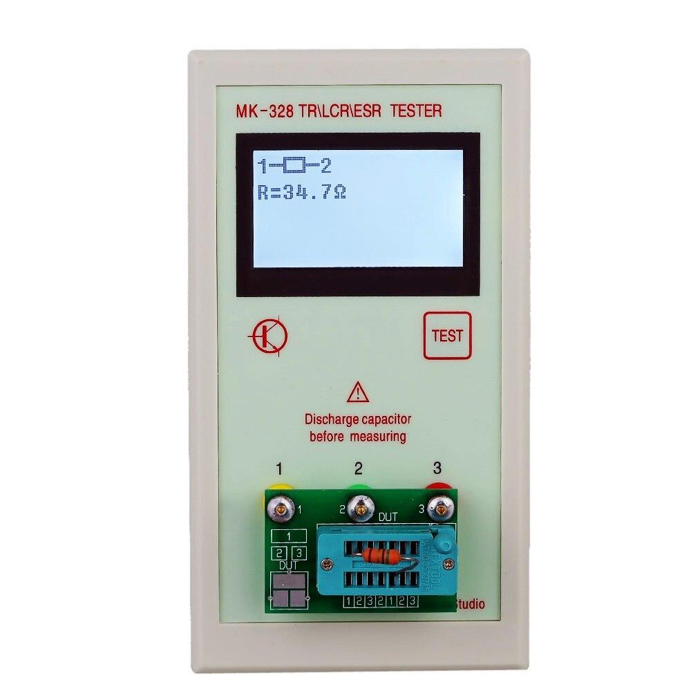 MK-328 TR \ RLC \ ESR transistor \ de capacité d'inductance résistance \ ESR Testeur