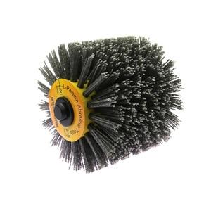 Image 2 - Angle Grinder Abrasive Wire Nylon Brushes P80 Deburring Polishing Buffing Wheel for Furniture Wood