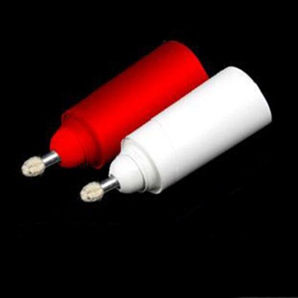 2pcs / lot נר מג'יק / הנראית נר / קוריאנית האיכות הטובה ביותר / לבן & אדום / טריקים קסם / שלב firestage קסם, לסגור את הקסם 81123