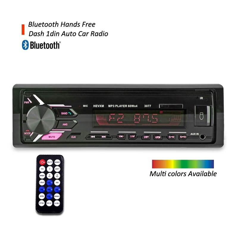 DYDNAUDIO Autoradio 12 V Bluetooth voiture stéréo In-dash 1 Din FM Aux entrée récepteur USB chargeur de voiture