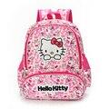 Hello Kitty девушки Мешок Школы Ребенок Рюкзак Сумки Школьные Рюкзаки Школьный Сумки, Прекрасные Дети Рюкзак