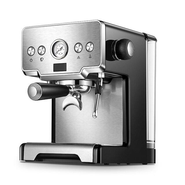 ITOP 15 Bar Italian Semi-automatic Coffee Maker Cappuccino Milk  Bubble Maker Americano Espresso Coffee Machine for Home 5